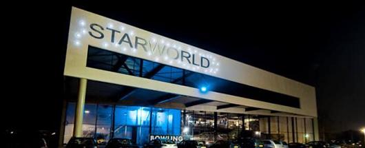 SWstarworldgebouwDe grootste indoor arena van Nederland