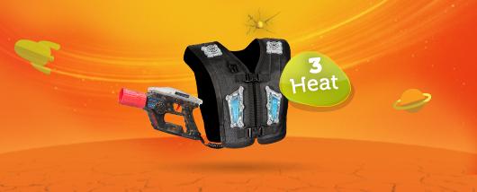 Lasergame 3 Heats PakketLasergame 3 Heats Pakket
