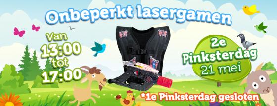WEB Starworld Pinksteren20184 560x2152e Pinksterdag: Onbeperkt lasergamen!