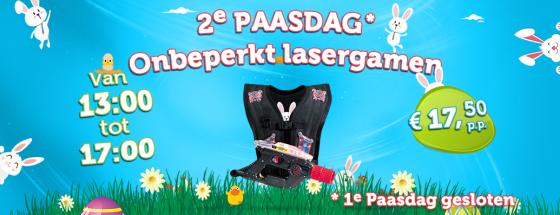 WEB Starworld Pasen2019 v3 560x2152e Paasdag: Onbeperkt Lasergamen!