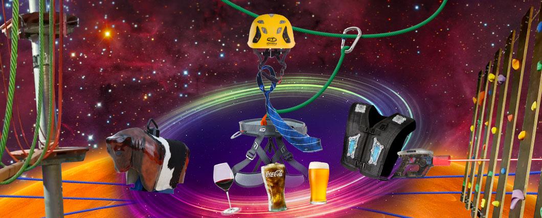 SW Klimpark Bedrijfspakket v2All in pakket klimmen   lasergamen